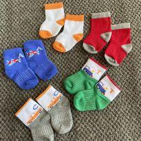 Meias para bebês 6 a 12 meses - 6 a 9 meses - Sem marca