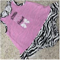 Body com babado  tigresa 12 meses - 1 ano - First Impressions