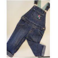 Jardineira jeans para meninas 18m - 18 meses - OshKosh