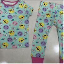Pijama meia estação 18 meses menina - 18 meses - Member`s Mark