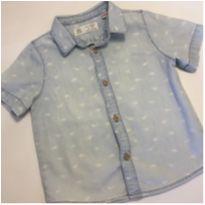 Camisa Dino Zara - 12 a 18 meses - Zara