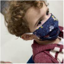 Máscara de proteção infantil - Turma da Mônica -  - Artesanal