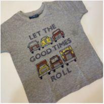 Camiseta importada para menino - 1 ano - Vrasalon