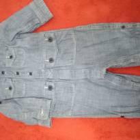 Macacão jeans baby gap - 3 a 6 meses - Baby Gap