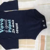 Boddy mancha longa vovô - 6 meses - yoyo Baby