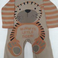 Macacão tigre - 1 ano - Não informada