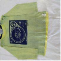 Camiseta manga longa - 6 a 9 meses - Up Baby