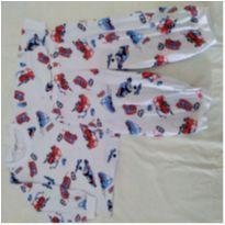 Pijama algodão bus - 9 a 12 meses - Tampinha
