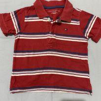 Camisa Polo Tommy - 18 a 24 meses - Tommy Hilfiger