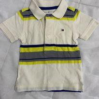 Polo Tommy Hilfiger - 3 a 6 meses - Tommy Hilfiger