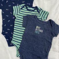 Kit body Carter's - 3 a 6 meses - Carter`s