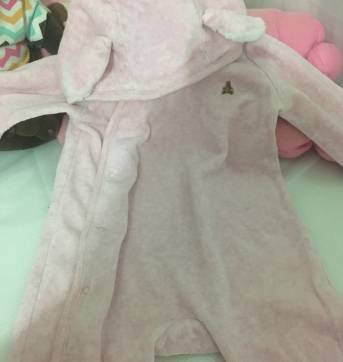 Macacão de Coelhinho - 3 a 6 meses - Baby Gap