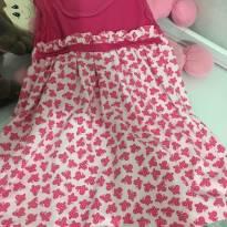 Vestido Borboletinha - 9 a 12 meses - Sem marca