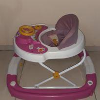 Andador Para Bebê Com Balanço 8 Rodas Regulável -  - Não informada