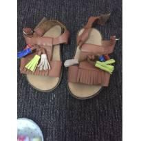 Sandália de couro - 19 - Zara Baby