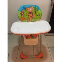 Cadeira Alimentação Polly 2 Em 1 - Wood Friends Chicco -  - Chicco