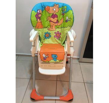 Cadeira Alimentação Polly 2 Em 1 - Wood Friends Chicco - Sem faixa etaria - Chicco