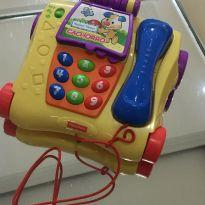 Telefone Musical Fisher-Price Aprender e Brincar Y9852 - Colorido -  - Fisher Price