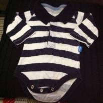Body fofo - 3 a 6 meses - Hering Kids