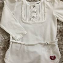 Blusa Chicco - 12 a 18 meses - Chicco