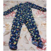 Pijama macacão Super Dino - 6 anos - Tip Top