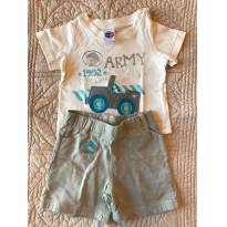 Army Baby - 6 a 9 meses - Tip Top