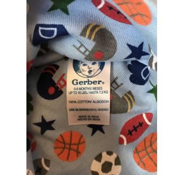 Gorros - 6 meses - Gerber