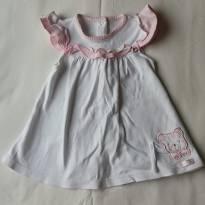 Vestido delicado - 9 meses - BIBE
