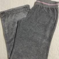 Calça Plush Palomino C&A, bolsos traseiros de corações tam 10 - 8 anos - C&A