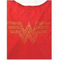 Camiseta DC Comics Mulher Maravilha tam P - 12 anos - DC Comics