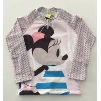 Camiseta UV Line Minnie Manga Longa - 1 ano - Uv line