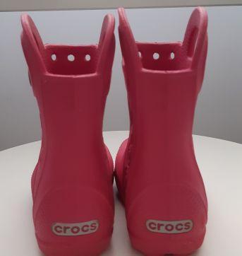 Galocha Crocs Rosa - 24 - Crocs