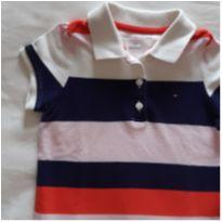 Camiseta Polo Tommy Hifiger - 2 anos - Tommy Hilfiger