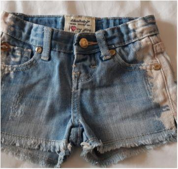 Short jeans Lilica Baby - 9 a 12 meses - Lilica Ripilica