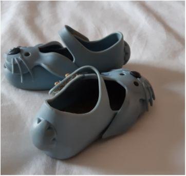 Mini Melissa coelho azul - 17 - Melissa