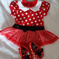 Fantasia Minnie - 9 a 12 meses - Disney baby