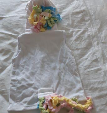 Colete Unicórnio - 2 anos - Boutique das Princesas
