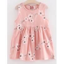 Vestido Floral (3 anos) - Importado - 3 anos - Não informada