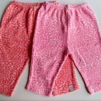 Calca oncinha (0 a 3 meses) - Bicho Molhado - 0 a 3 meses - Bicho Molhado