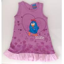 Vestido Galinha Pintadinha (2/3 anos)  - Malwee - 2 anos - Malwee