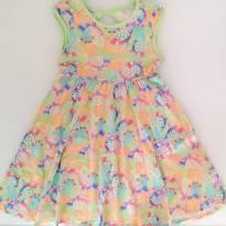 Vestido florido verde (4 anos) - Alakazoo! - 4 anos - Alakazoo!