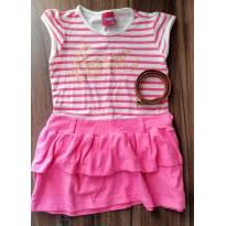 Vestido com cinto (2 anos) - Minore - 2 anos - Minore Kids