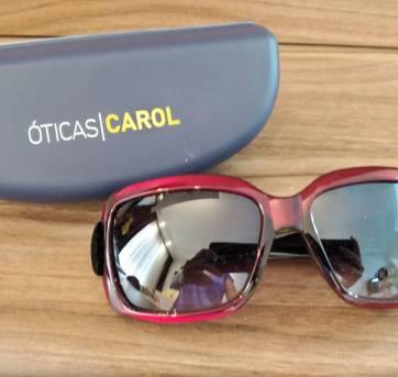 89d5adc05 Óculos de sol Feminino - Óticas Carol (NOVO) no Ficou Pequeno ...