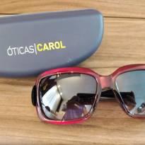 Óculos de sol Feminino - Óticas  Carol (NOVO) -  - Nacional