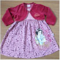 Vestido com Bolero (3 anos) - Brandili Disney - 3 anos - Brandili