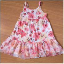 Vestido Florido (3 anos) - Kyly - 3 anos - Kyly