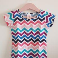 Camiseta coloridinha - 1 ano - Marisol