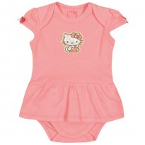 Body Hello Kitty Baby  Tam P - 0 a 3 meses - Hello  Kitty