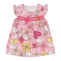 Vestido Hello Kitty - Tam M - 3 a 6 meses - Hello  Kitty