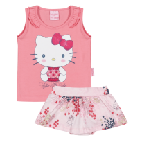 Conjunto Hello Kitty  Tam G - 6 a 9 meses - Hello  Kitty